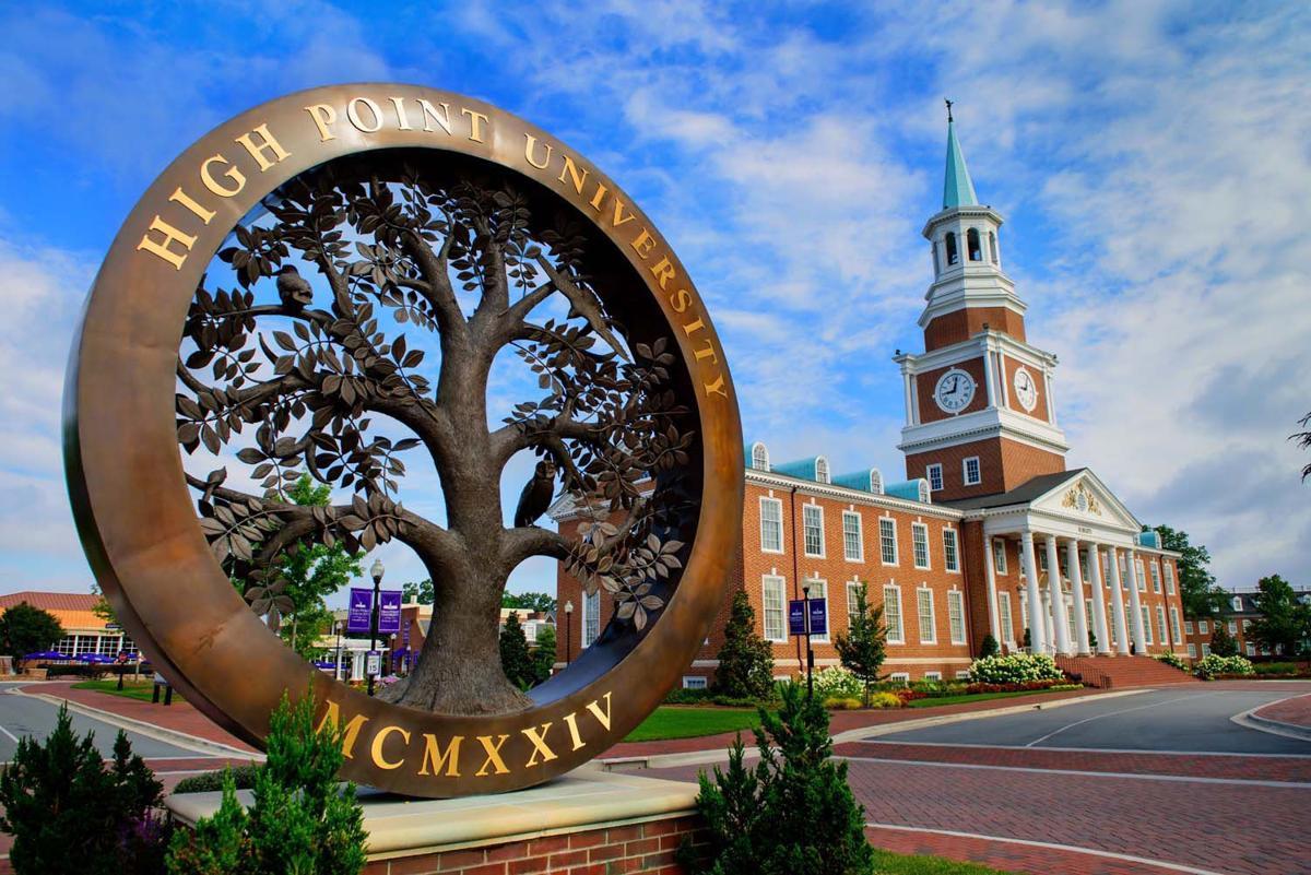 Du học Mỹ tại High Point University - trường đại học tráng lệ như resort cao cấp !